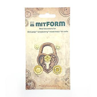 Mitform Screw 1 Metal Embellishments