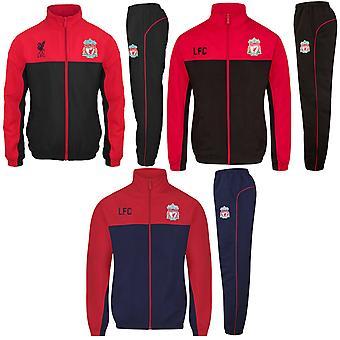 Liverpool FC offizielle Fußball Geschenk Herren Jacke & Hose Trainingsanzug Set