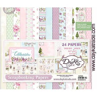 DayKa Trade Celebracion Nina 12x12 Inch Paper Pack