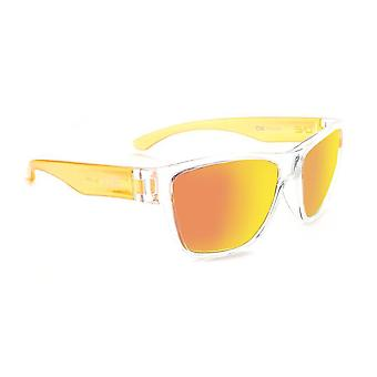 Kids tag - two toned polarized retro colourful sunglasses