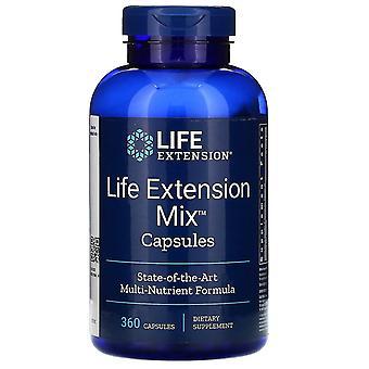 Extensión de vida, Cápsulas de mezcla, 360 cápsulas