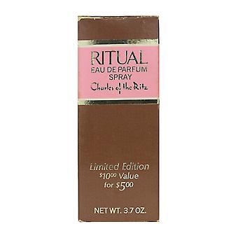 Charles Of The Ritz Ritual Eau De Parfum Limited Edition 3.7Oz Vintage 80% Full
