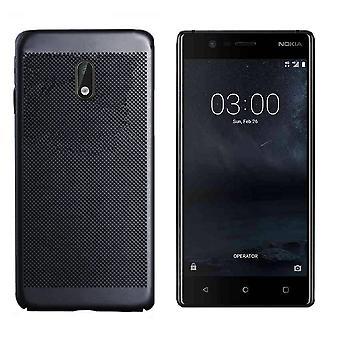 Colorfone Nokia 6 Shell Mit Loch (Schwarz)