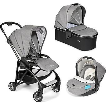 Tutti Bambini Koji Black 3 in 1 Travel System- Charcoal