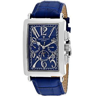 Christian Van Sant Men's Prodigy Blue Dial Uhr - CV9137
