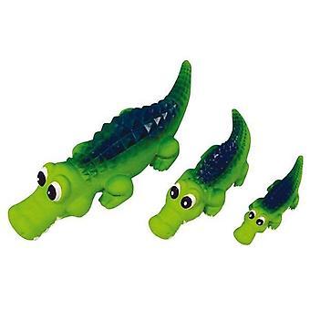 Kitisevä Latex krokotiili suuri 35 cm