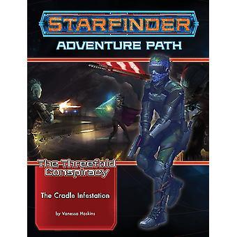 Starfinder Adventure Path 29 The Cradle Infestation Drievoudige Samenzwering 5 van 6