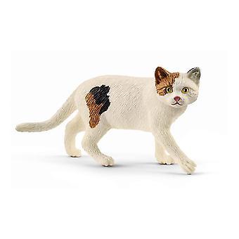 Schleich Farm World American Kurzhaar Katzenspielzeug Figur (13894)
