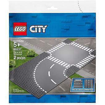 LEGO 60237 кривой и пересечения
