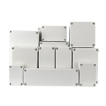 Caja de plástico impermeable electrónica Ip67 Proyecto Instrumento Caso de unión exterior Caja de