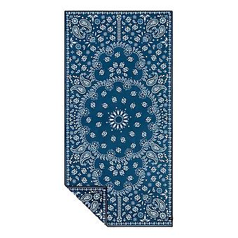 Slowtide Paisley Park Travel Towel - Navy