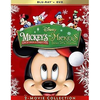 Mickey's Once / Twice Upon A Christmas: 2-Movie [Blu-ray] USA import