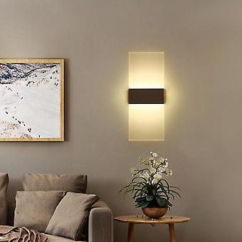 Led Fashionable Wall Lamp Bedroom Bedside Stairs Corridor Simple Light 110v 220v Decorative