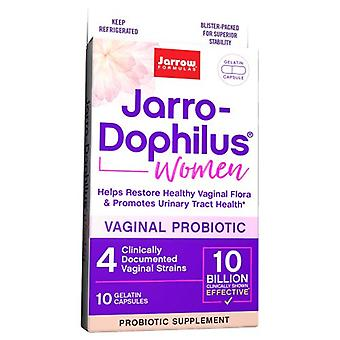 Jarrow Formulas Jarro-Dophilus Women 10 Billion Cells, 10 Veg Caps