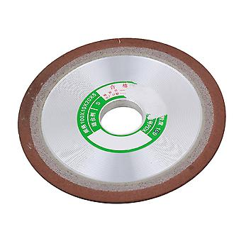 10cm Dia One Side Tapered Diamond Schleifscheibe 180 Grit Bearbeitungswerkzeug