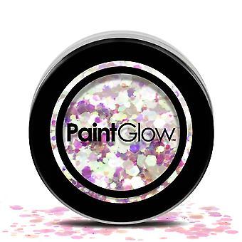 PaintGlow (chgr06) Chunky Cosmetic Glitter: Unicorn Tears 3g
