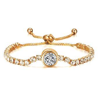Bellissimo braccialetto con zircon regalo di lusso 18k placcatura in oro