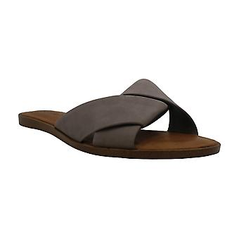1. State Womens Travor Suede Open Toe Casual Slide Sandals