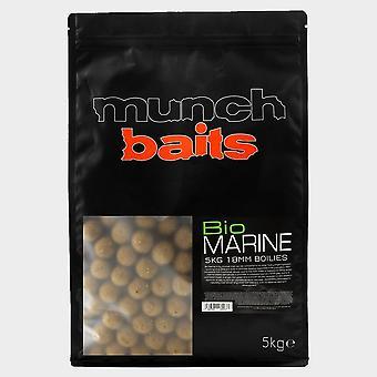 New Munch Bio Marine 18mm Boilies 5kg Shelf Life Brown