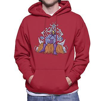 Masters Of The Universe Skeletor Throne Of Bones Men's Hooded Sweatshirt