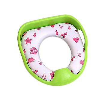 Comfortable Baby Potty-seat Pad, Cartoon Soft Pu Travel-toilet