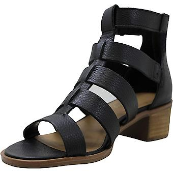 American Rag Womens Sonia Leather Peep Toe Casual Ankle Strap Sandals