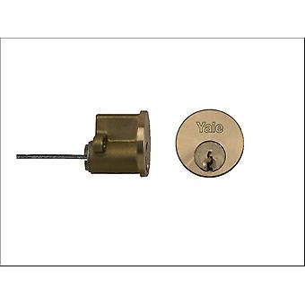 Yale Replacement Cylinder Satin Brass P-1109-PB