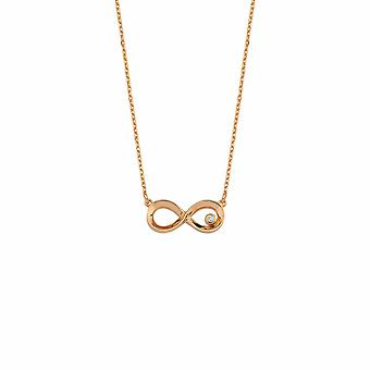 Infinity Diamant Halskette