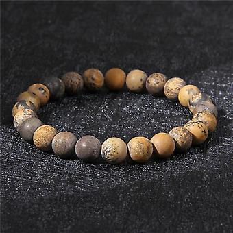 Natural Healing Stone Bracelet-17/19cm