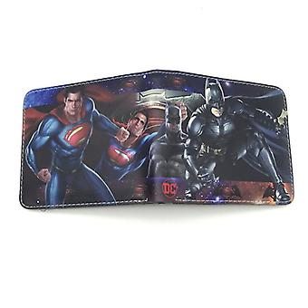 PU leather Coin Purse Cartoon anime wallet --Captain America # 706