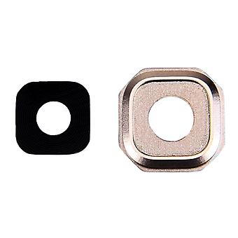 10 PCS Kamera Objektiv abdeckungen für Galaxy A7 (2016) / A710(Gold)