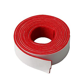 Red Spring Rail Felt Strip for Piano Keyboard Replacement 130x1.9cm
