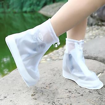 1 Paar wiederverwendbare rutschfeste Regen Abdeckungen Schuhe, wasserdichte Silikon-Schuh-Abdeckung