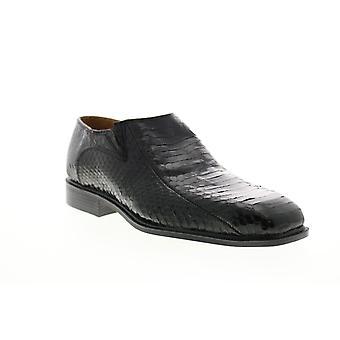 Giorgio Brutini Felix  Mens Black Wide Loafers & Slip Ons Casual Shoes