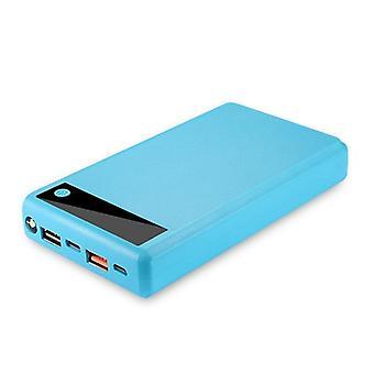 Display Screen Power Bank Shell Micro Type-c Input Battery External Charger Diy