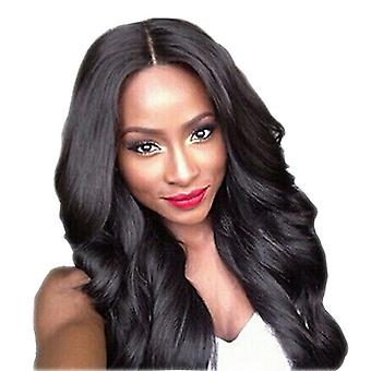 Brand Mall Wigs, Lace Wigs, Realistic Big Wave Long Curly Wig Headgear