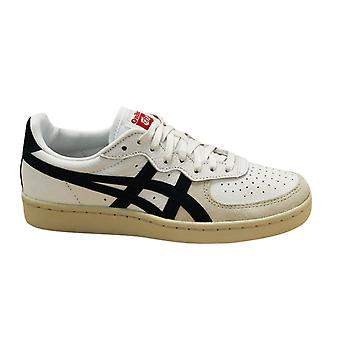Asics Onitsuka Tiger GSM Lace Up Unisex Trainers White Navy D5K2Y 0150 B36D