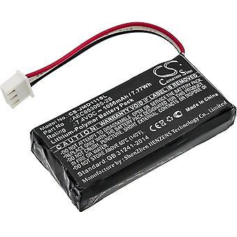 Speaker Battery for JBL AEC653055-2S Flip1 Flip 1 Original CS-JMD111SL 1050mAh