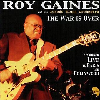 Roy Gaines & Orchester Tuxedo Blues - War Is Over (Live) [CD] USA importieren