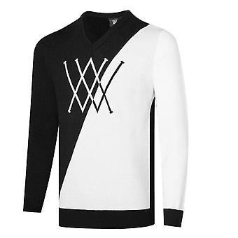 Syksy / Talvi Miehet Golf Villapaita T-paita Golf Vaatteet