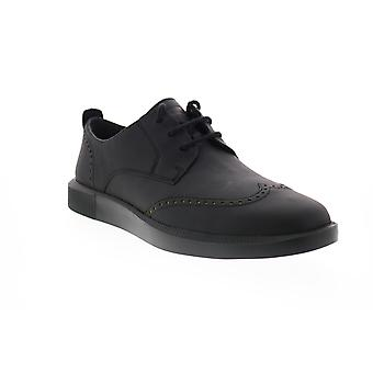 Camper TWS Mens Black Oxfords & Lace Ups Wingtip & Brogue Chaussures
