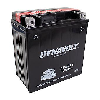 Dynavolt DTX16BS Maintenance Free Battery With Acid Pack YTX16-BS