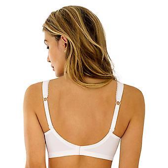 Rosme Divine 643423-001 Women's White Non-Padded Non-Wired Soft Bra