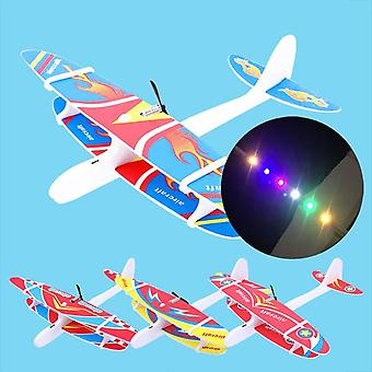 Kid Diy Model Aircraft Assembled Electric Glider Epp Foam Hand Throwing Plane
