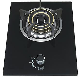 Domestic Natural Liquefied Gas Built-in Hobs Steel Single Stove
