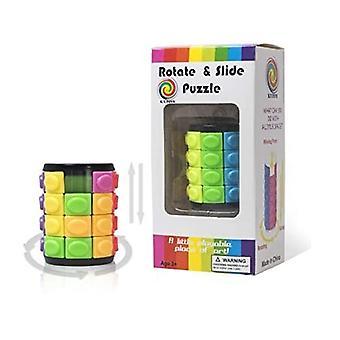 Rotate and Slide Puzzle / Magic puzzle