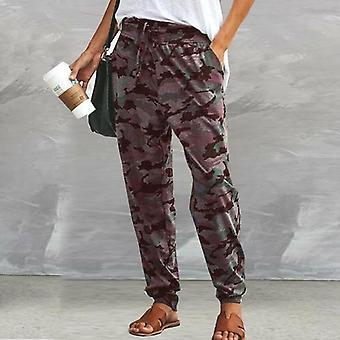 Casual Camflouage Printed Long Pants