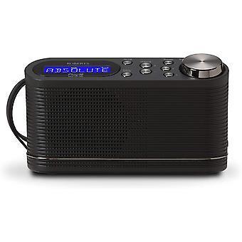 DZK Radio Play10 DAB DAB plus FM Digital Radio with Simple Presets, Black (Renewed)