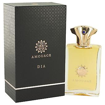 Amouage Dia Eau De Parfum Spray Av Amouage 3,4 oz Eau De Parfum Spray