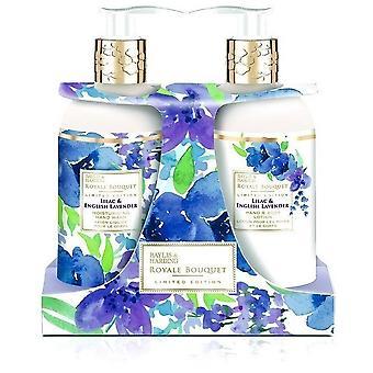 Baylis & Harding Baume pour les mains Royale Bouquet et kit de savon anglais à la lavande et au lilas